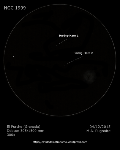 NGC 1999 detalles