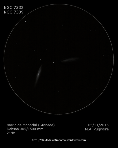 NGC 7332-7339