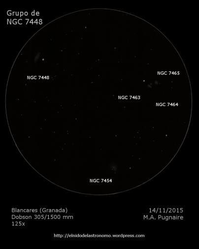 NGC 7448 detalles