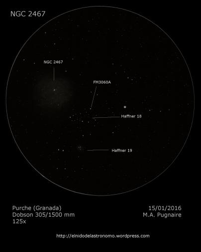 NGC 2467 detalles