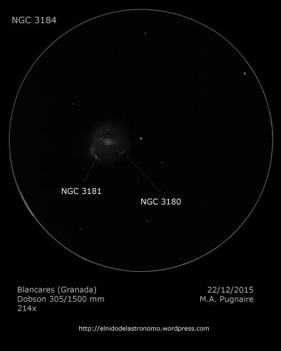 NGC 3184 detalles