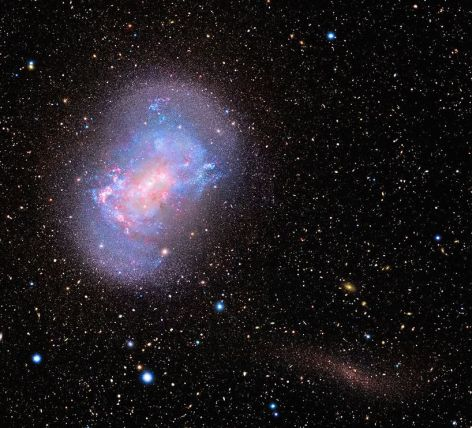 Foto NGC 4449 subaru