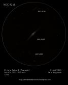 NGC 4216 detalles