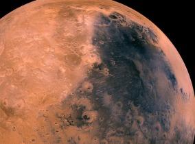 Foto Marte Syrtis Viking orbiter