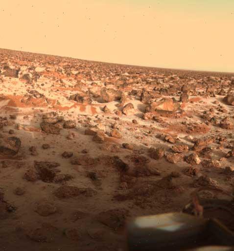 Foto Marte Utopia Viking Lander 2, 1979