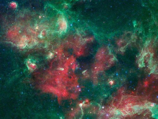 Foto cygnus X Spitzer