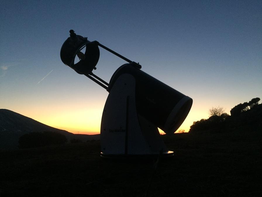 """Telescopio Sky-Watcher Dobson 12"""" extensible de Migue Pugnaire"""