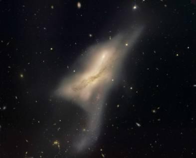 Foto NGC 520
