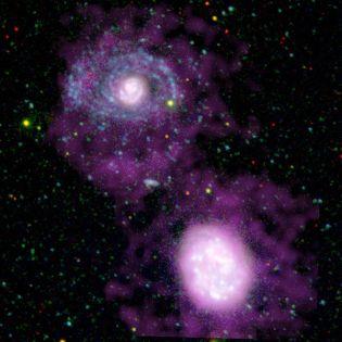 Foto NGC 4625 uv
