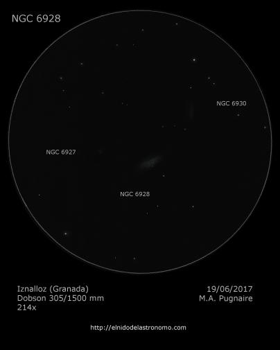 NGC 6928 - detalles