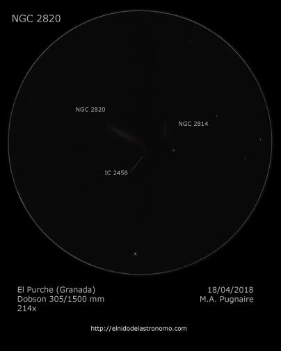 NGC 2820 detalles
